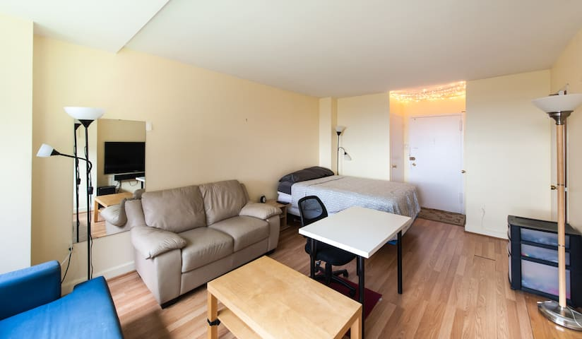 Studio 15min from Georgetown - Arlington - Daire