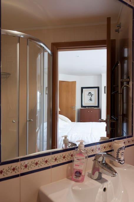 ground floor bedroom and bathroom