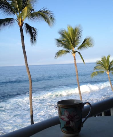 Absolute Ocean Front For Two - Kailua-Kona - Apartament