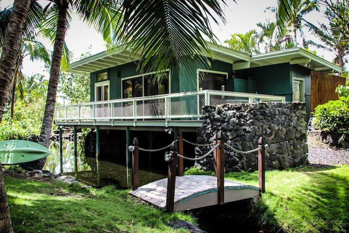 Kapoho Tiki Cottage