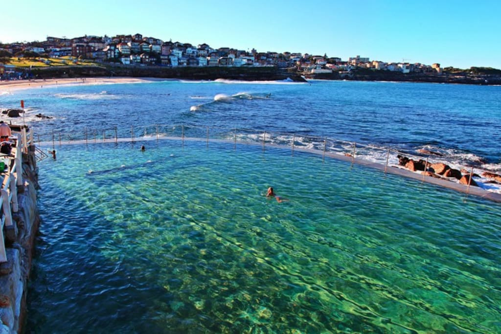 Outdoor Ocean Pool at Bronte free to use and a great way to cool off