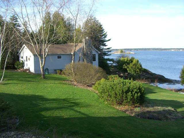 Cottage on waterfront in Maine - Phippsburg - Ház