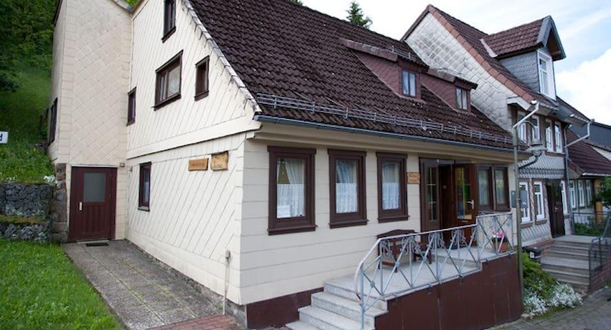 Haus Linus -Schöne Ferienwohnung EG - Sankt Andreasberg - Apartmen