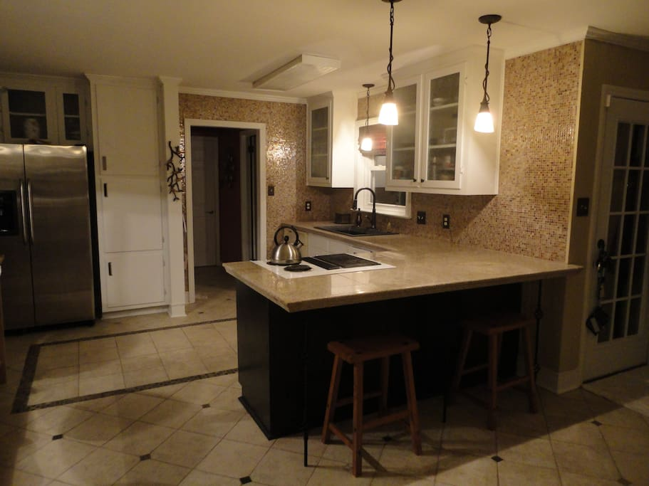 Remodled kitchen.