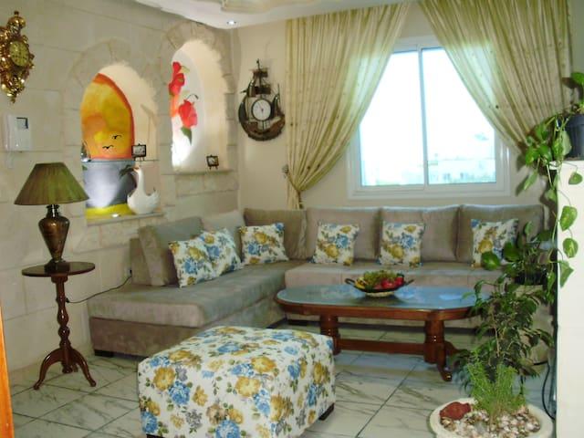 Charmant appartement , spacieux et confortable - Sousse - Flat