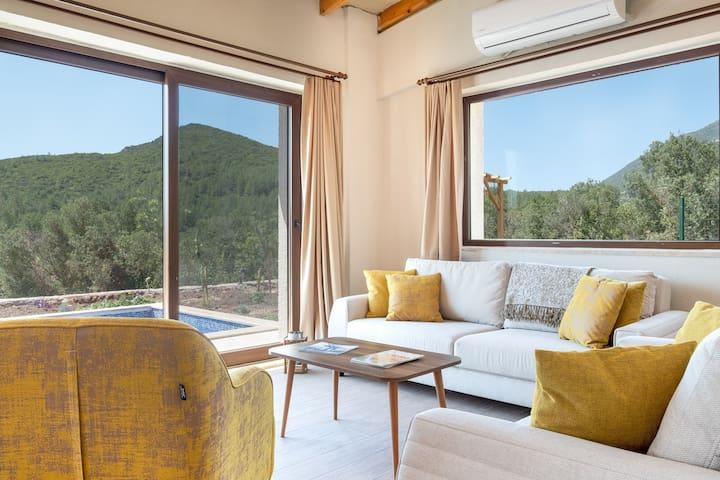 Stone Villa in the Greenest Serenity: Villa Zen