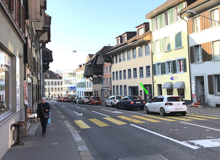 Aarau-New, moderne old-town apartment for 6 guest