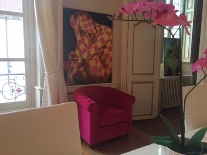 Appartement magnifique luxe 130 m  centre ville