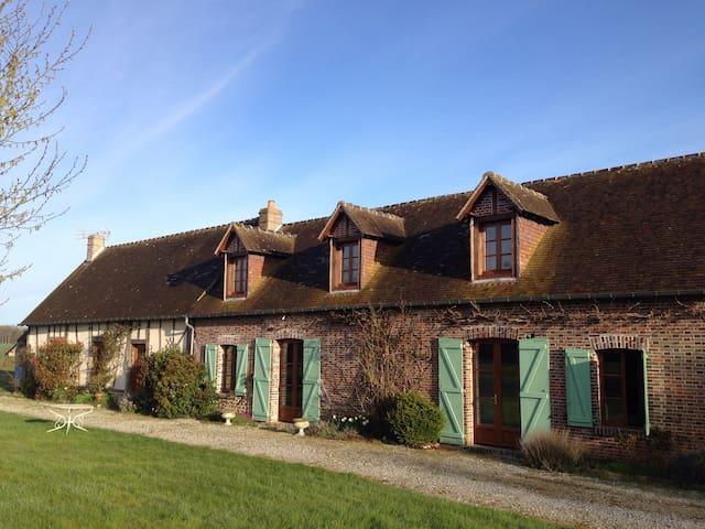 Maison confortable à la campagne - les Bottereaux - Rumah