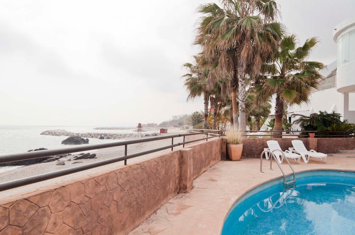 H1- Direct access to the beach!! - Benalmádena - Appartement