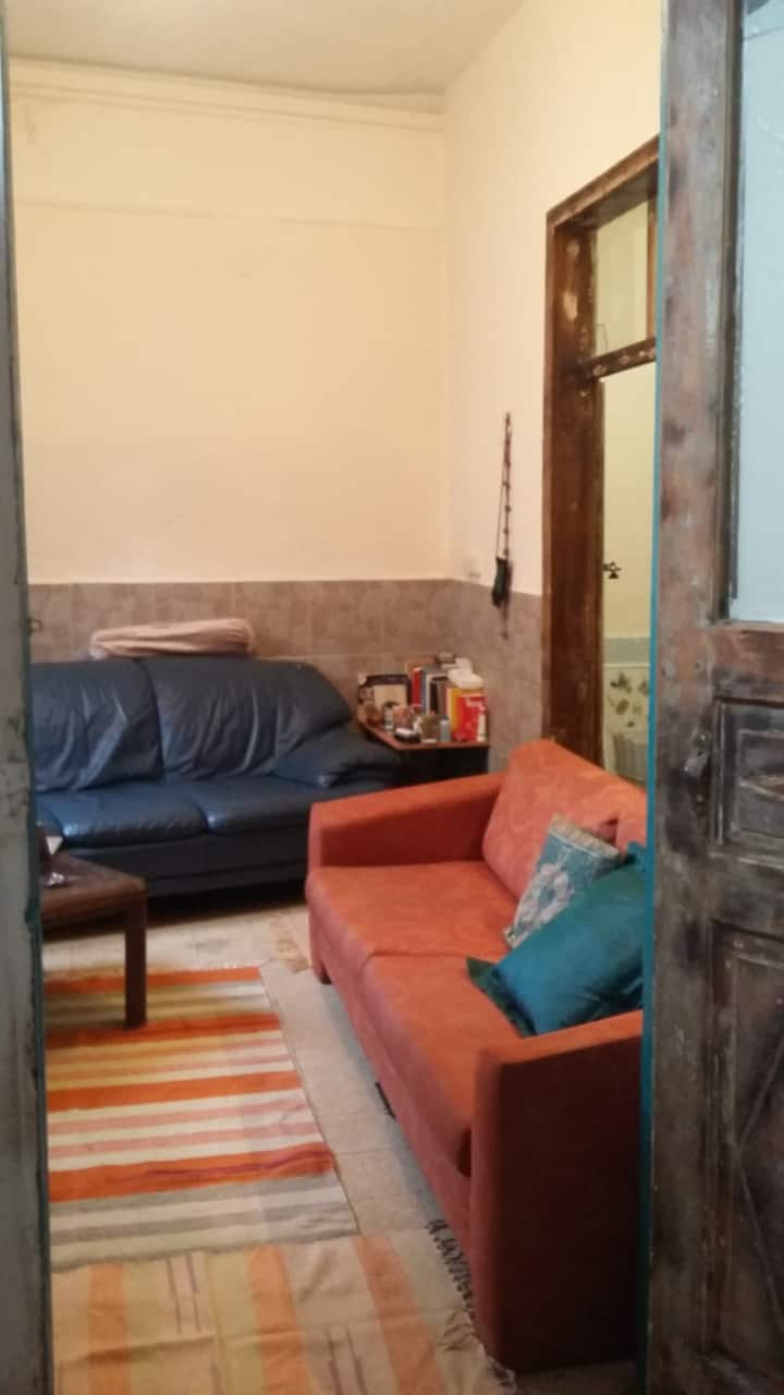Two-in-one room in Nachlaot