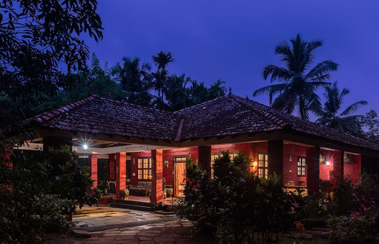 Cottage amidst the Woods in Karkala