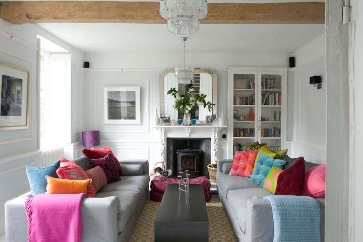 Eclectic & Sumptuous Old Vicarage - Wedmore - Dom