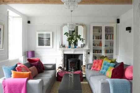 Eclectic & Sumptuous Old Vicarage - Wedmore - 獨棟