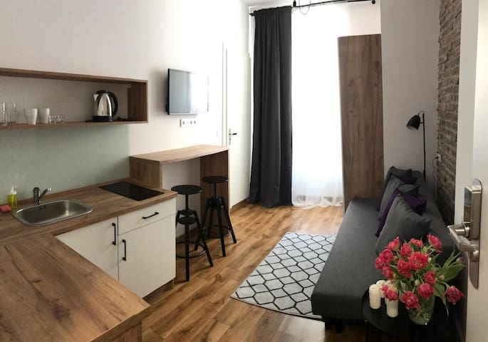 Studio Apartment 3 City Center-Self Check in 24h
