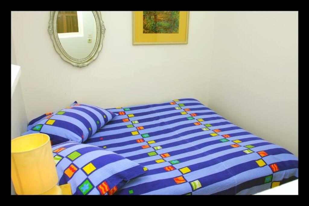 comfortable beds in quiet suroundings