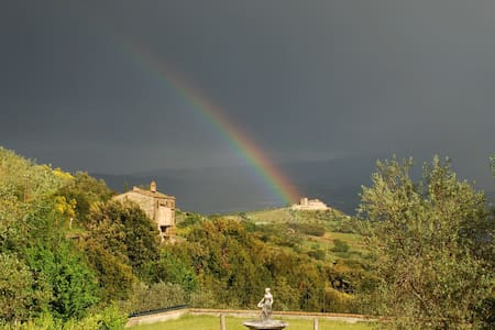 Caseggiato tipico toscano cam 4 - Montalcino