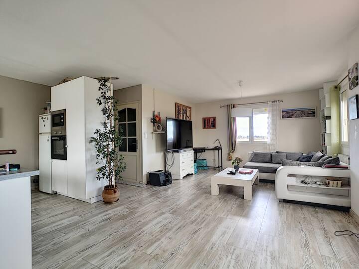 joli et lumineux appartement de 80m2