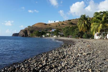 Charmante maison au calme proche de la mer - Le Carbet - Casa