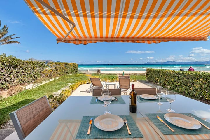 Beachfront Villa Socias Playa