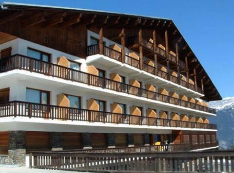 Pis amb vistes al Mont Blanc