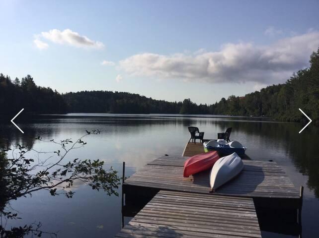 Chalet Urbain372 (au bord du Lac) - Sainte -emelie-de-l'energie - Huis