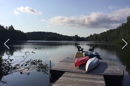 Chalet Urbain372 (au bord du Lac) - Sainte -emelie-de-l'energie - Rumah