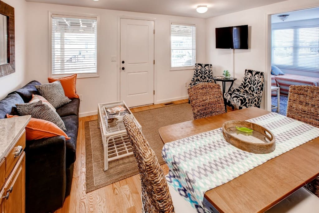Escape to Long Beach Island and stay at this vacation rental apartment!