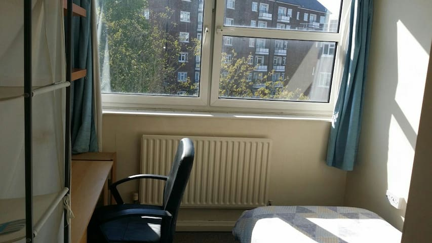 Cozy Single room in  central London - Londyn - Apartament