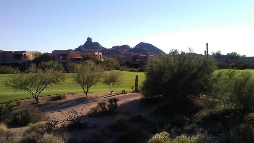 Troon North 9th Hole & Breathtaking View