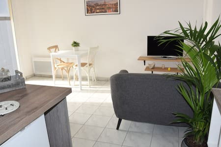 Bright and cosy 1 bedroom flat with a pool - Anglet - Wohnung