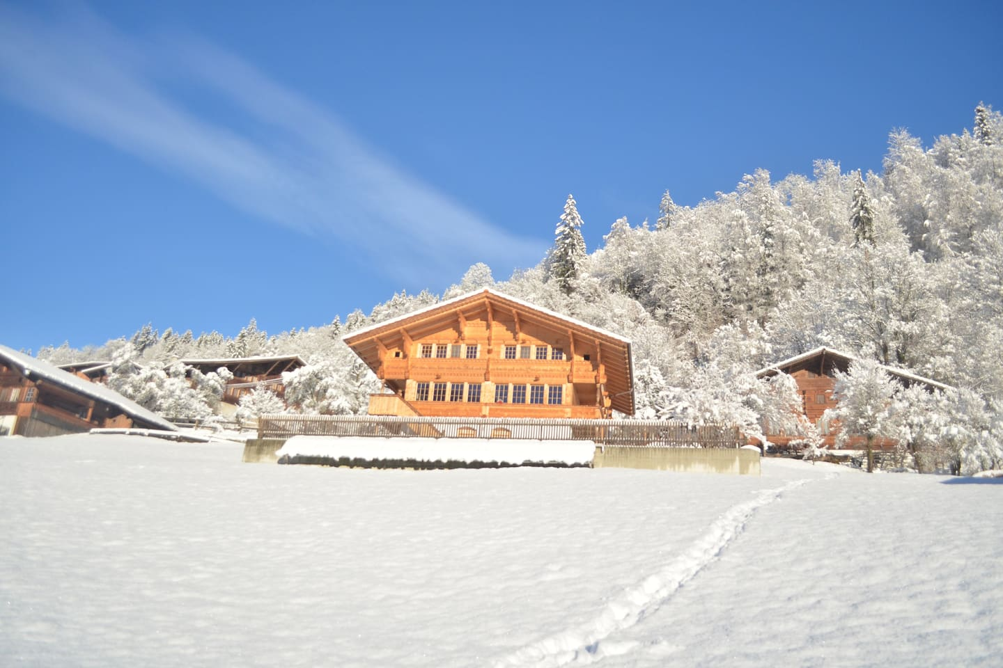 Swiss Chalet in the heard of the Bernese Oberland