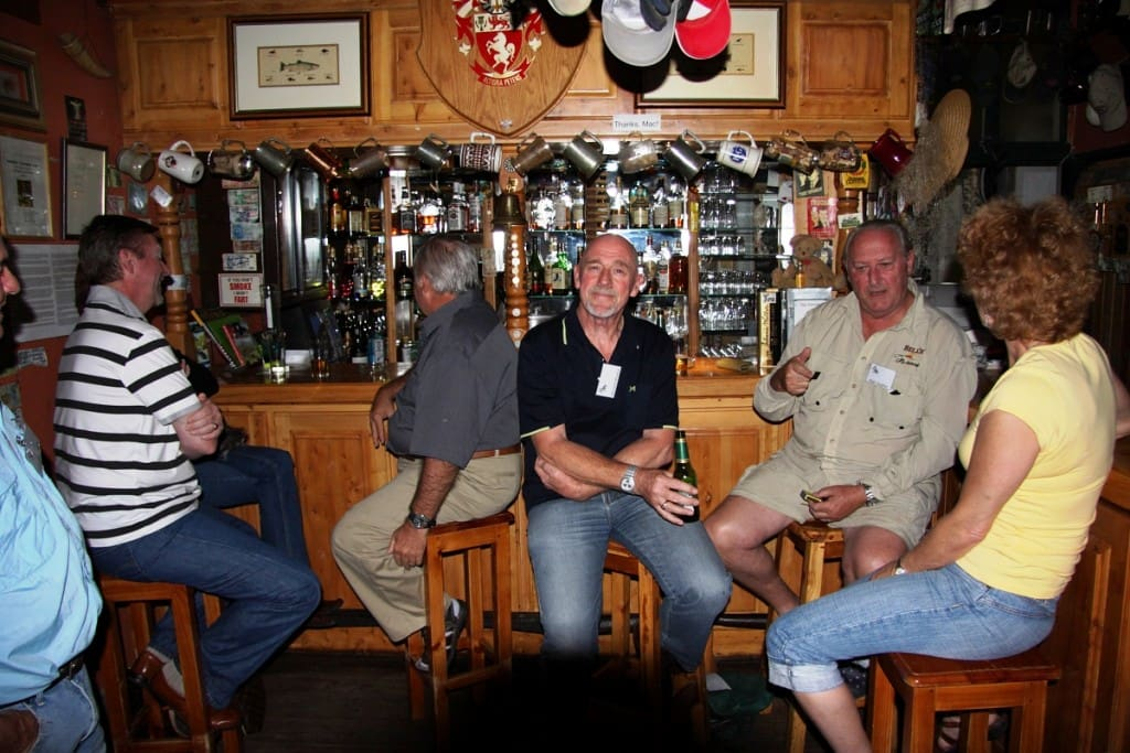 Cold beer and fishing tales in the pub!