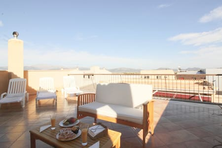 Lovely Mallorcan town house 10km from the beach. - Muro