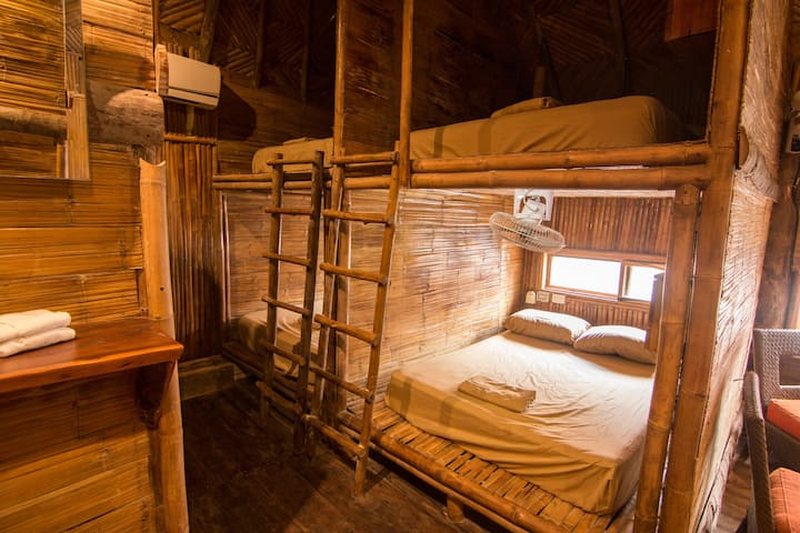Eco tree rooms for 8 ppl+ Free Cenote Access+WIFI