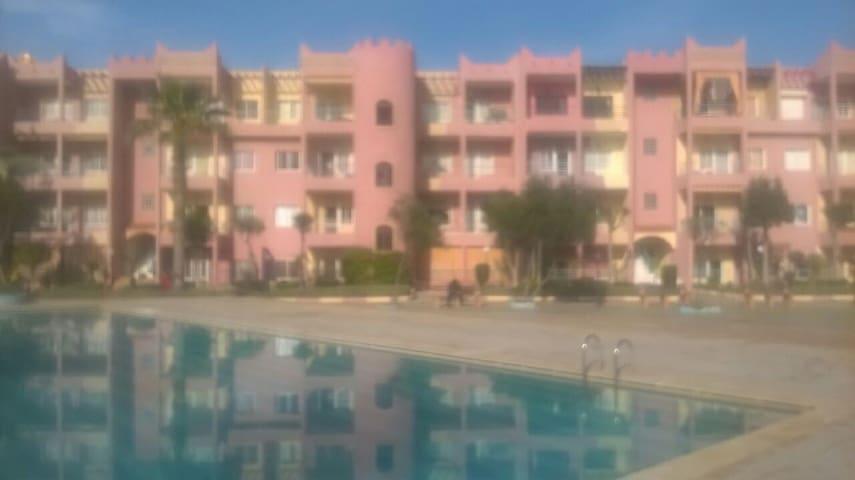 Appart/F2, résidence Sahara Beach, vue sur mer - Mohammedia - Wohnung