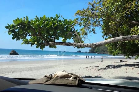 The Elephant Castle: Beach Front Penthouse - Manuel Antonio Beach - Lakás