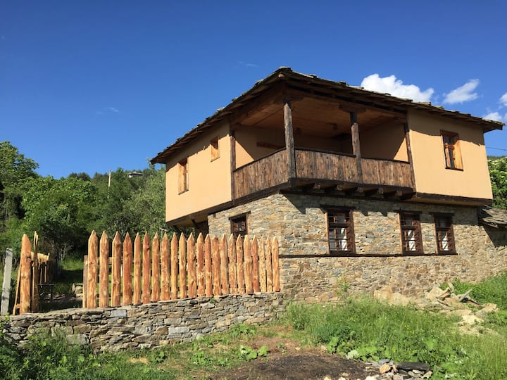 Traditional Bulgarian house with amazing views