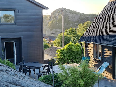 Ocean view retreat, peaceful, 30 mins from Bergen