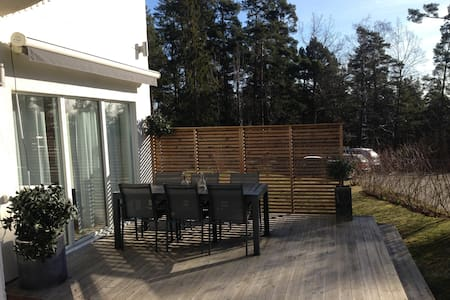 Stockholm , by the sea - new house - Täby - Haus