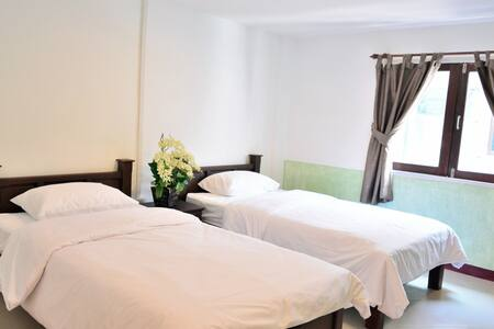 Central. Cozy. Standard Twin - Pattaya - Wohnung