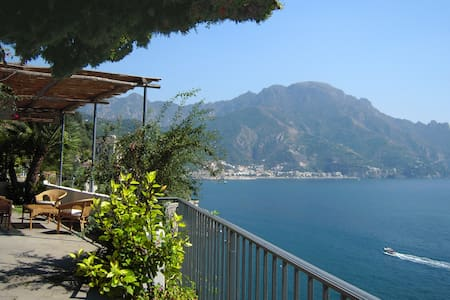 Ravello L'Incanto access to the sea - Marmorata