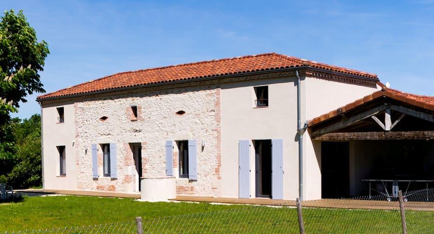 Gite Pech de Durand -  ferme du XIXeme restaurée - Villeneuve-sur-Lot - Hus