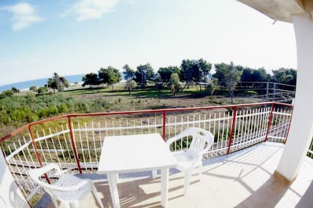 Apartment with balcony beach view - Villapiana Lido