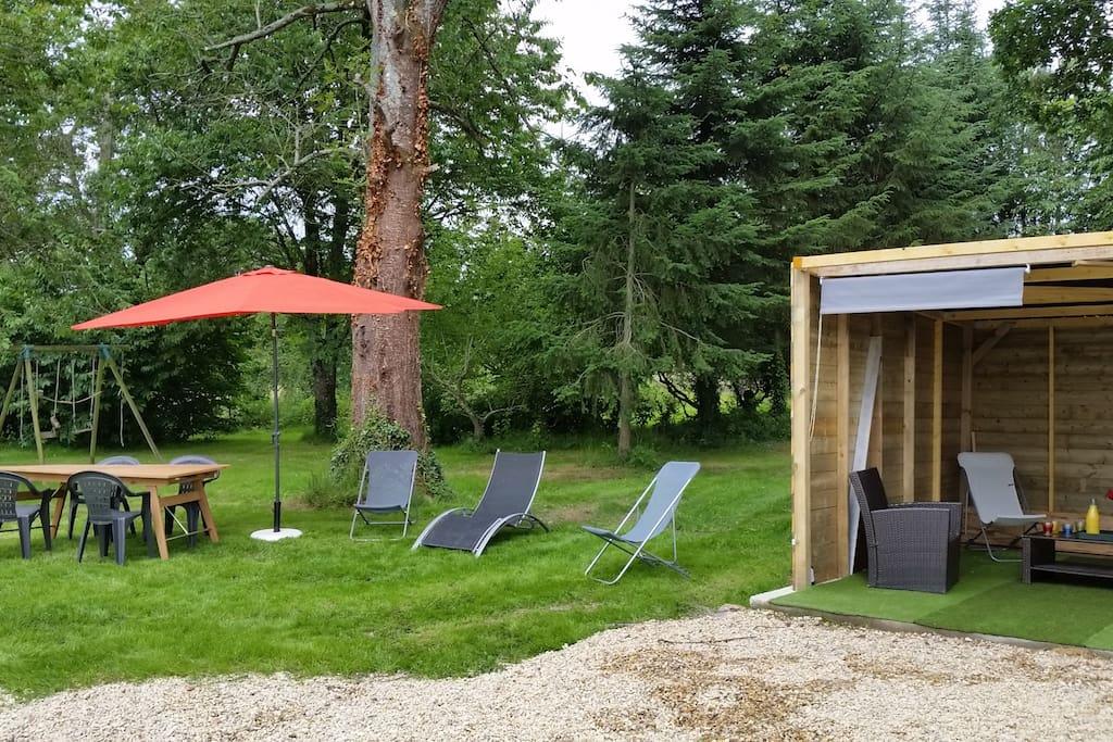 G te 5 chambres avec piscine chauff e houses for rent in - Gite avec piscine bretagne ...