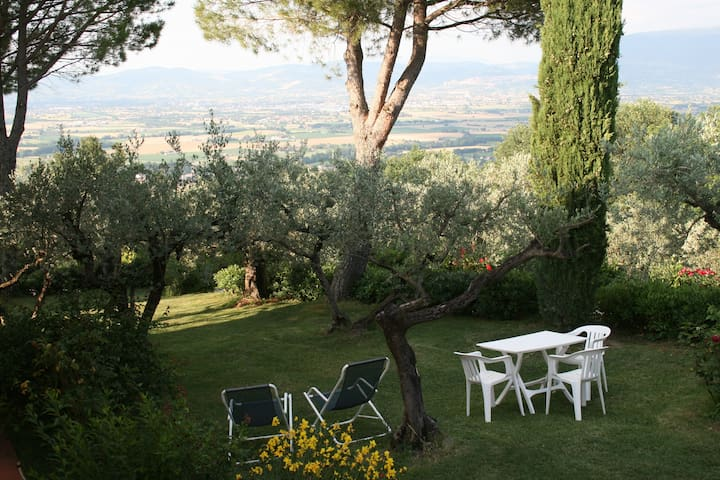 Attic of Luxury Villa with Pool close to Assisi - Bettona - วิลล่า
