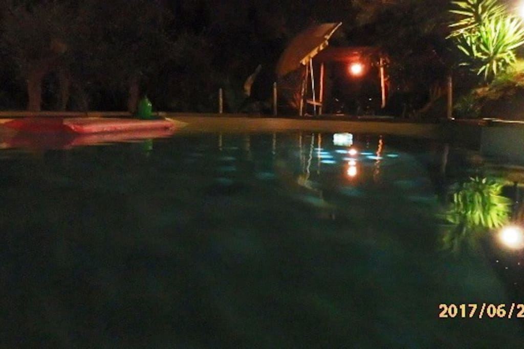 pool to share with apart. BOUGANVILLE - sea/hills view