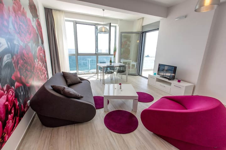 Sea Star 1 Apartment with balcony  - Sutomore - Apartmen