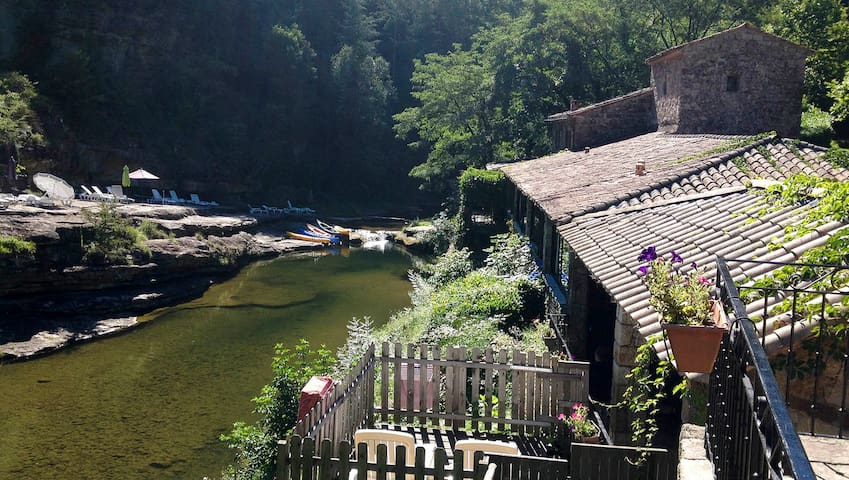 La Cigale - vacances plage rivière - Joyeuse/Ribes - Appartement