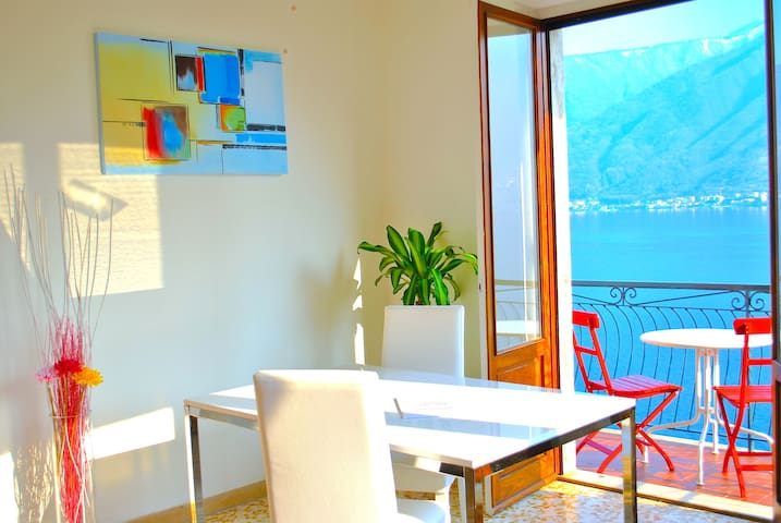 Palm Bay Belvedere Como Frontlake -private parking - SALA COMACINA - Appartement